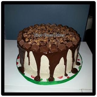 Reeses Peanut Butter Cup cake - Cake by First Class Cakes