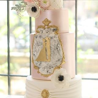 Romantic Wedding Cake - Cake by Sihirli Pastane