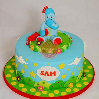 Iggle Piggle Cake for Sam - Cake by Strawberry Lane Cake Company
