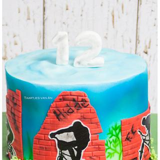 Cool BMX cake for a cool boy