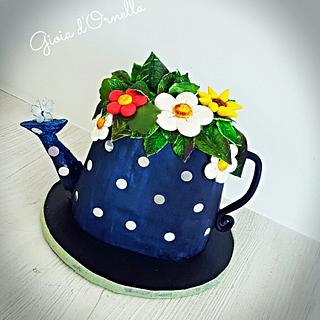 🌱My watering can cake🌱