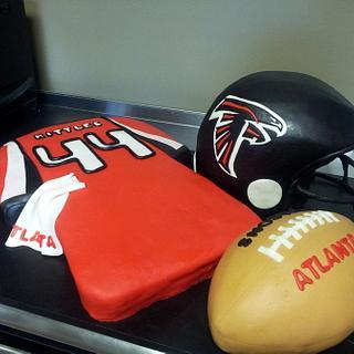 Atlanta Falcons Grooms Cake