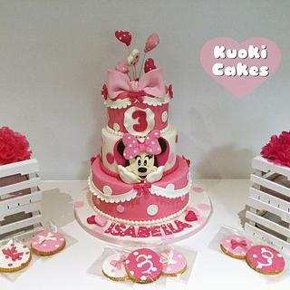 Minnie party cake