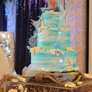 Unique Sea Themed Cake - Cake by MsTreatz