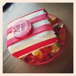 Bag of Sweets Cake