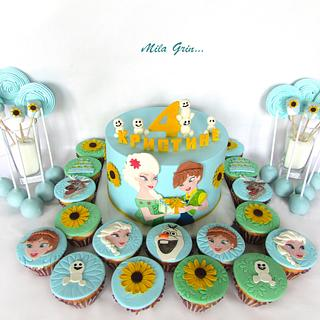 Fever cake and cupcakes