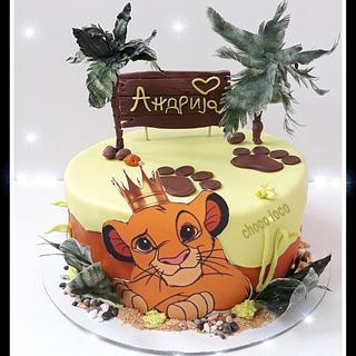 Simba cake - Cake by Choco loco