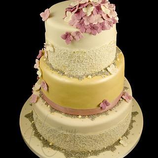 Edel's wedding cake