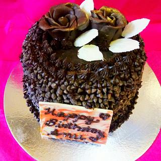 Chocolate Rose truffle