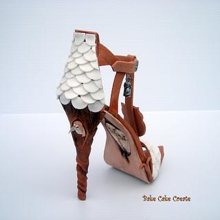 Twit-twoo shoe - Cake by Karen Geraghty