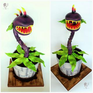 Chomper - Plants vs. Zombies - Cake by Antonia Lazarova