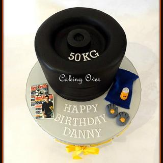 Gym themed cake - Cake by Amanda Brunott