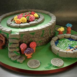 Flower garden cake - Cake by Vanessa