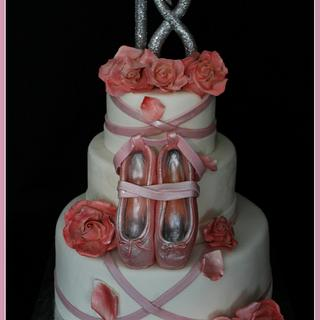 Dance shoes cake - Cake by Cristina Quinci