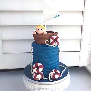 Sailboat Smash Cake