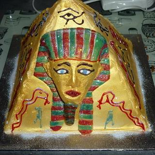 "my fourth ever cake ""egyption"" - Cake by timdefatone"