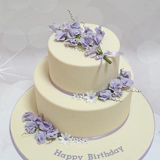 Sweet Pea - Cake by The Chain Lane Cake Co.