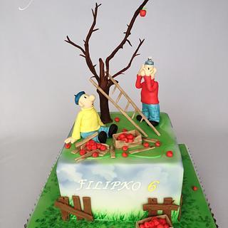 Pat & Mat  - Cake by Layla A