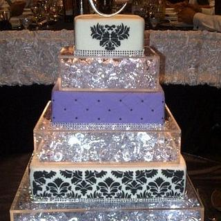 Truly different wedding cake