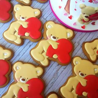cake and gingerbread bears - Cake by Victoria