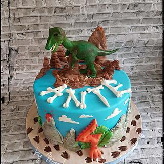 T-rex cake - Cake by Sweet cakes by Masha