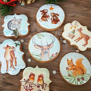 Painted cookies