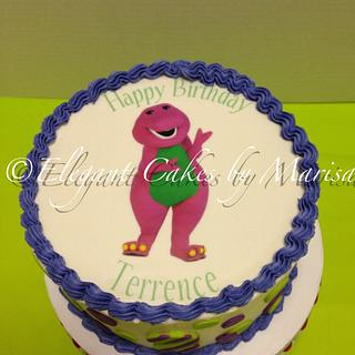 BARNEY THEME - Cake by ECM