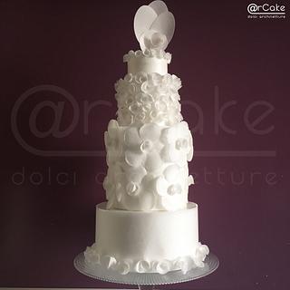 La vie en rose - Cake by maria antonietta motta - arcake -