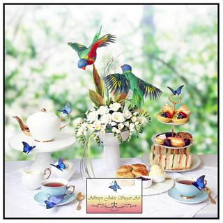 """High Tea in the Garden"""