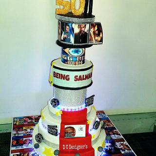 Salman Khan's 50th Birthday Cake