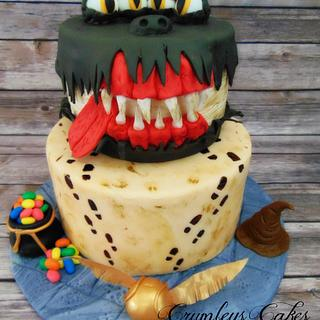 Hogwarts Cake Challenge Book of Monsters