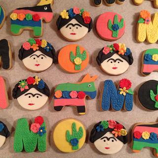 Mexico theme cookies