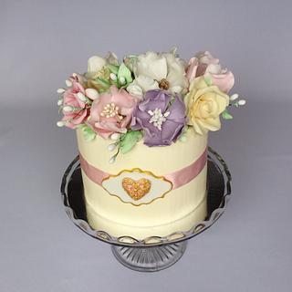 Flower box cake - Cake by Layla A