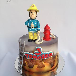 Fireman Sam - Cake by Layla A