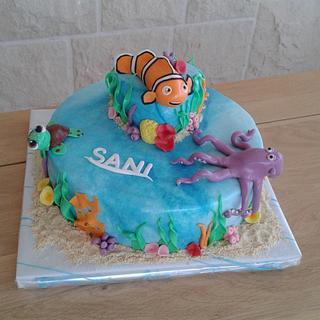 Nemo cake - Cake by Jobe