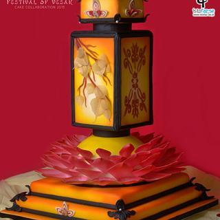 Vesak Enlightenment Cake