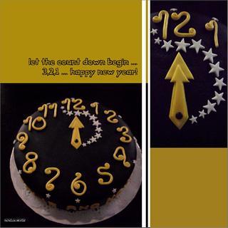 Happy New Year's Cake! - Cake by Bela Verdasca