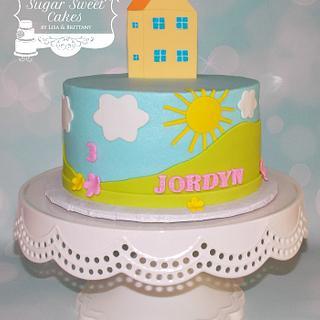 Peppa Pig  - Cake by Sugar Sweet Cakes