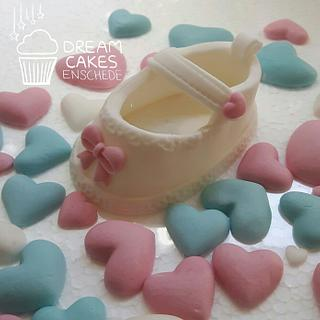 Baby shoes topper!