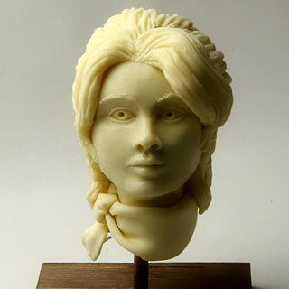 Human bust for one day class