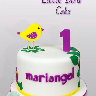 Tutorial Torta Pajarito - Little Bird cake
