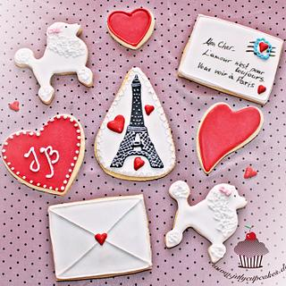 Valentine's Day Cookies - Cake by Julycupcake