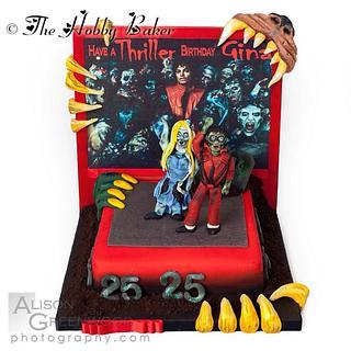 Thriller music video themed