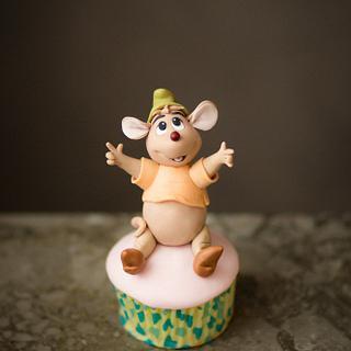 cinderella cup cake