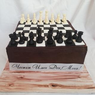 Шах мат - Cake by Bibi