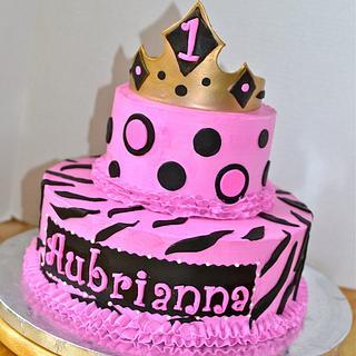 Sassy 1st Birthday Cake