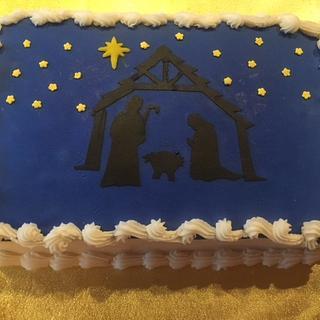 """TIS THE REASON FOR THE SEASON"" - Cake by Julia"
