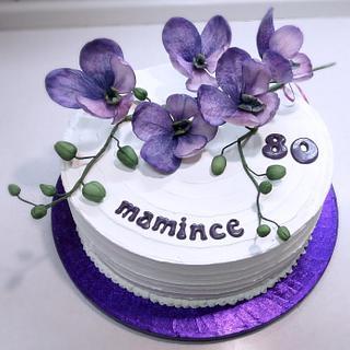 Orchid - Cake by Majka Maruška