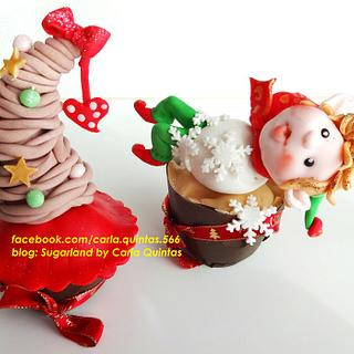 xmas cupcakes collection
