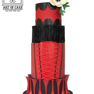 Kinky Boots Inspired - My NY Cake Show Entry